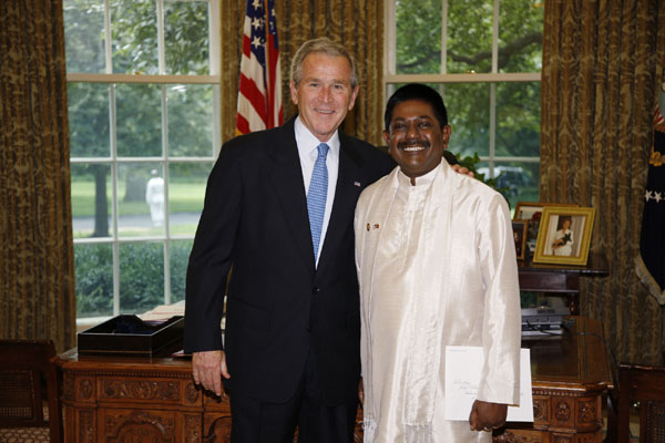 Ambassador's audience with President Bush
