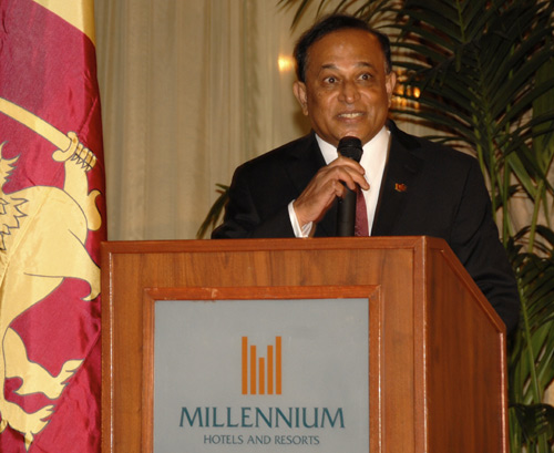Address by Consul General Mr. Ananda Wickramasinghe